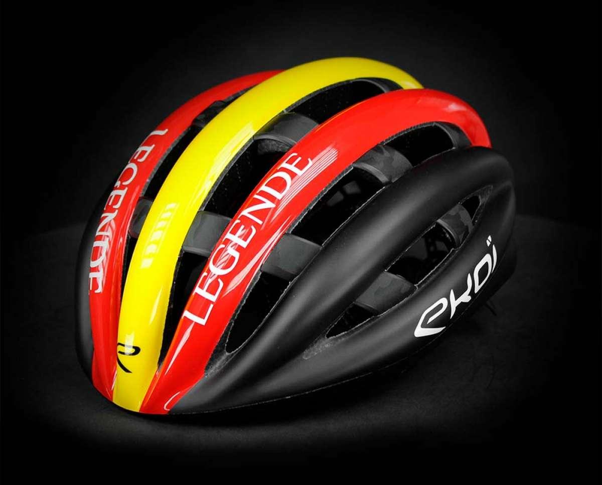 Ekoï Legende, un casco de estilo retro con las tecnologías más modernas