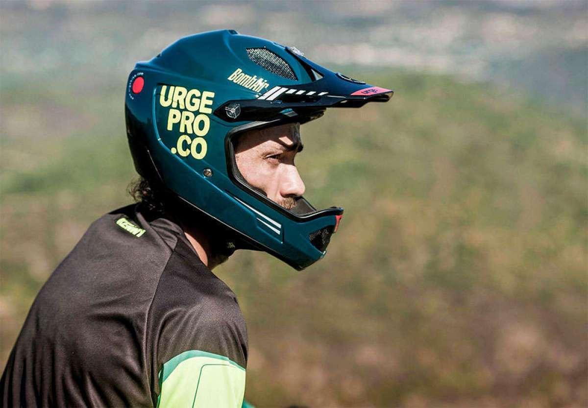 Urge BombAir, un casco integral con ADN de competición a precio imbatible