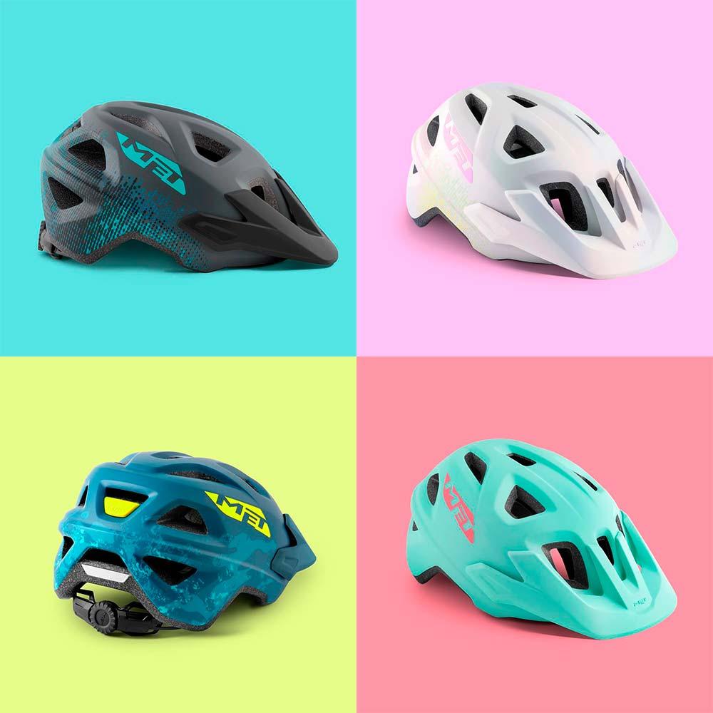 En TodoMountainBike: MET presenta los cascos Echo y Eldar, dos modelos económicos de MTB para adultos y niños