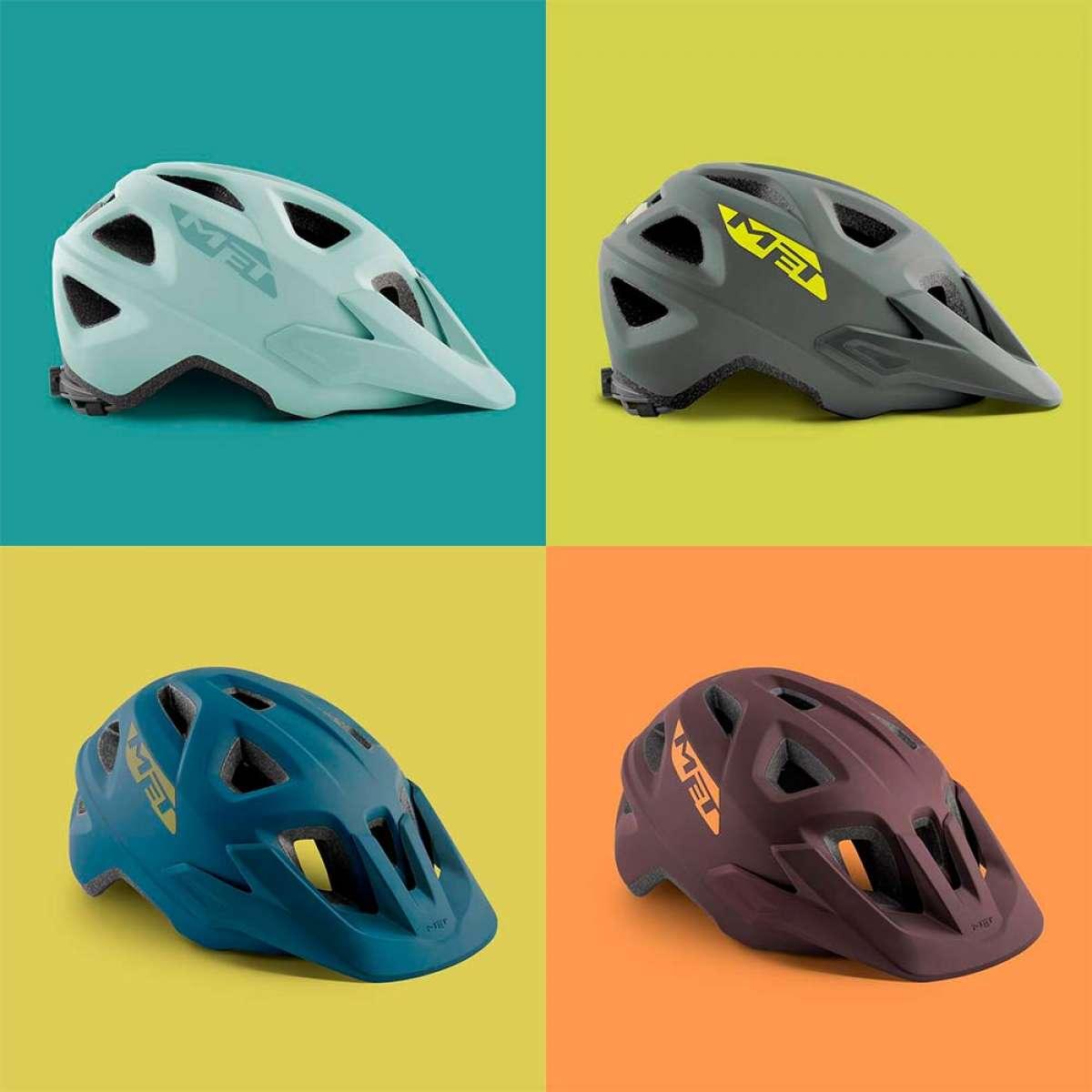 MET presenta los cascos Echo y Eldar, dos modelos económicos de MTB para adultos y niños