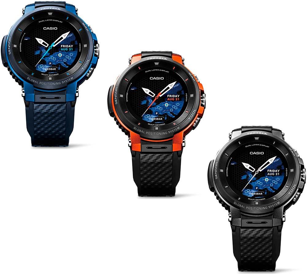 En TodoMountainBike: Casio WSD-F30, un reloj inteligente con pantalla de doble capa y seguimiento de rutas y entrenamiento