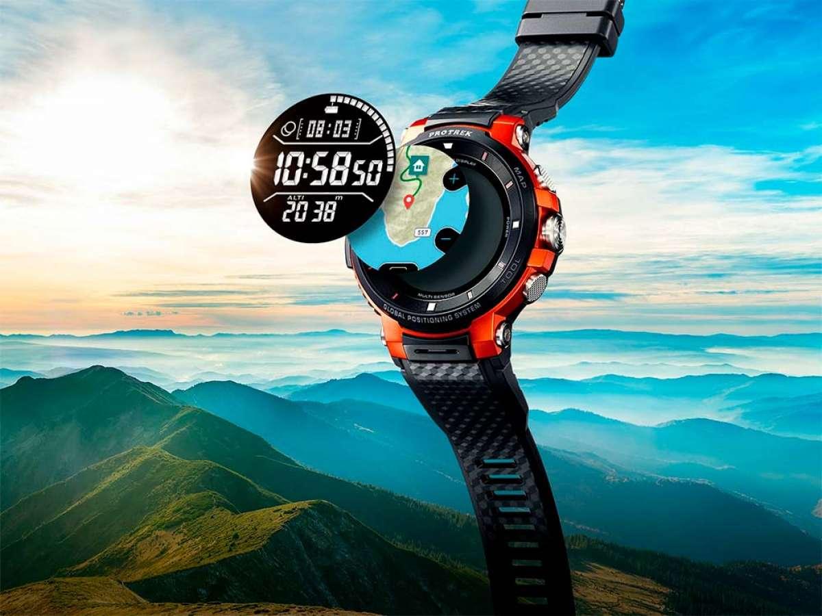 Casio WSD-F30, un reloj inteligente con pantalla de doble capa y seguimiento de rutas y entrenamiento
