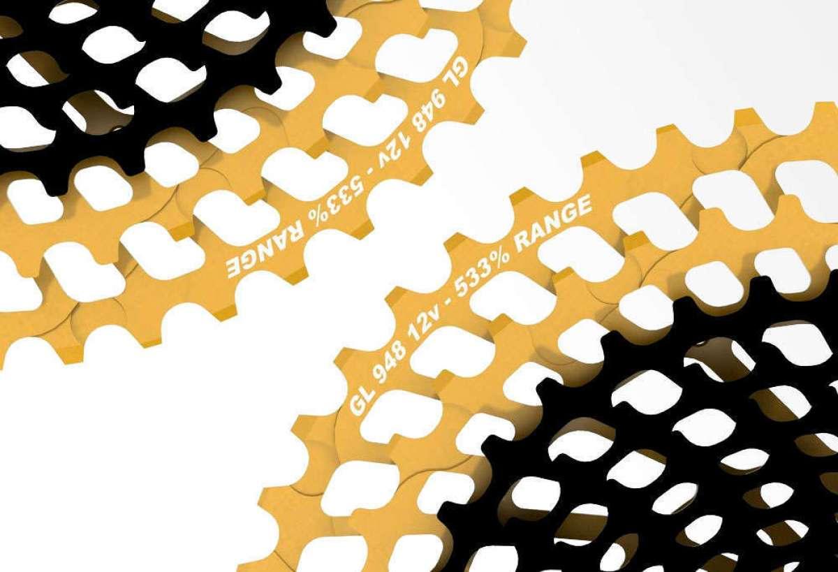 Máximo desarrollo y color oro para los cassettes Leonardi General Lee 9.46 y 9.48 de 12 velocidades