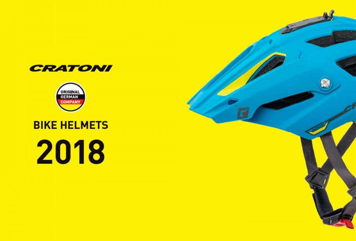 Catálogo de Cratoni 2018. Toda la gama de cascos y gafas Cratoni para la temporada 2018