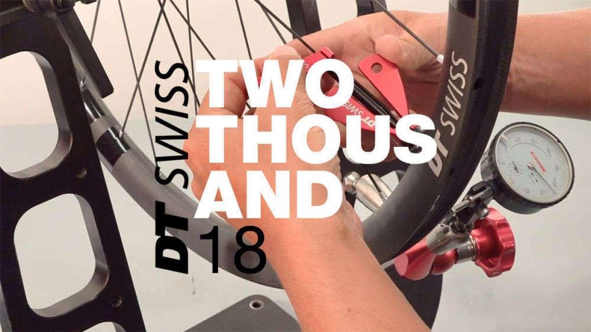Catálogo de DT Swiss 2018. Toda la gama de componentes DT Swiss para la temporada 2018