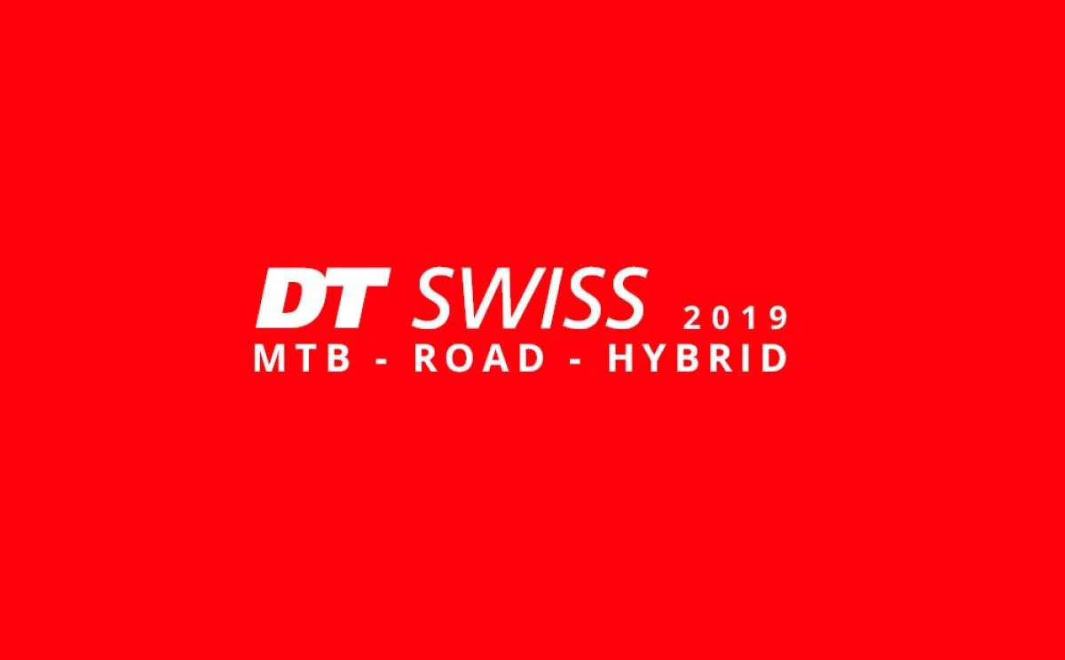 Catálogo de DT Swiss 2019. Toda la gama de componentes DT Swiss para la temporada 2019