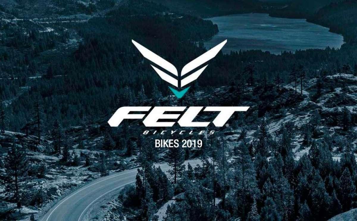 Catálogo de Felt Bicycles 2019. Toda la gama de bicicletas Felt para la temporada 2019