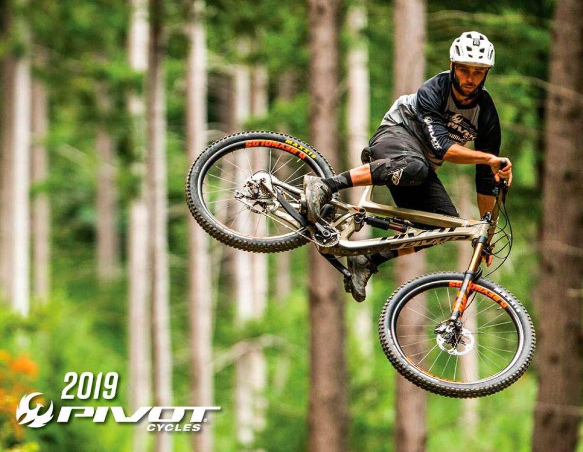 Catálogo de Pivot Cycles 2019. Toda la gama de bicicletas Pivot para la temporada 2019