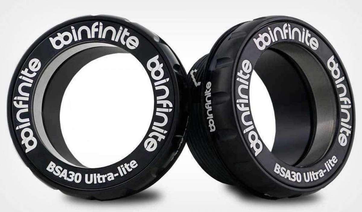 BBInfinite BSA30 Ultra-Lite, las cazoletas roscadas más ligeras del mundo