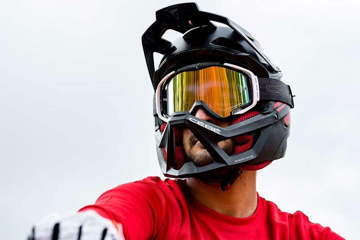 Cébé presenta el RockGarden, un casco integral de diseño único para entusiastas del Enduro