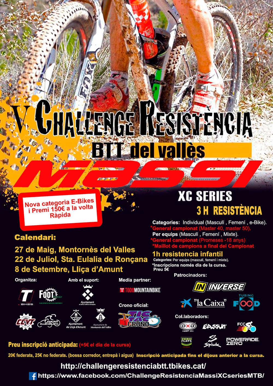 La V Challenge Resistencia Massi XC Series se presenta en el calendario