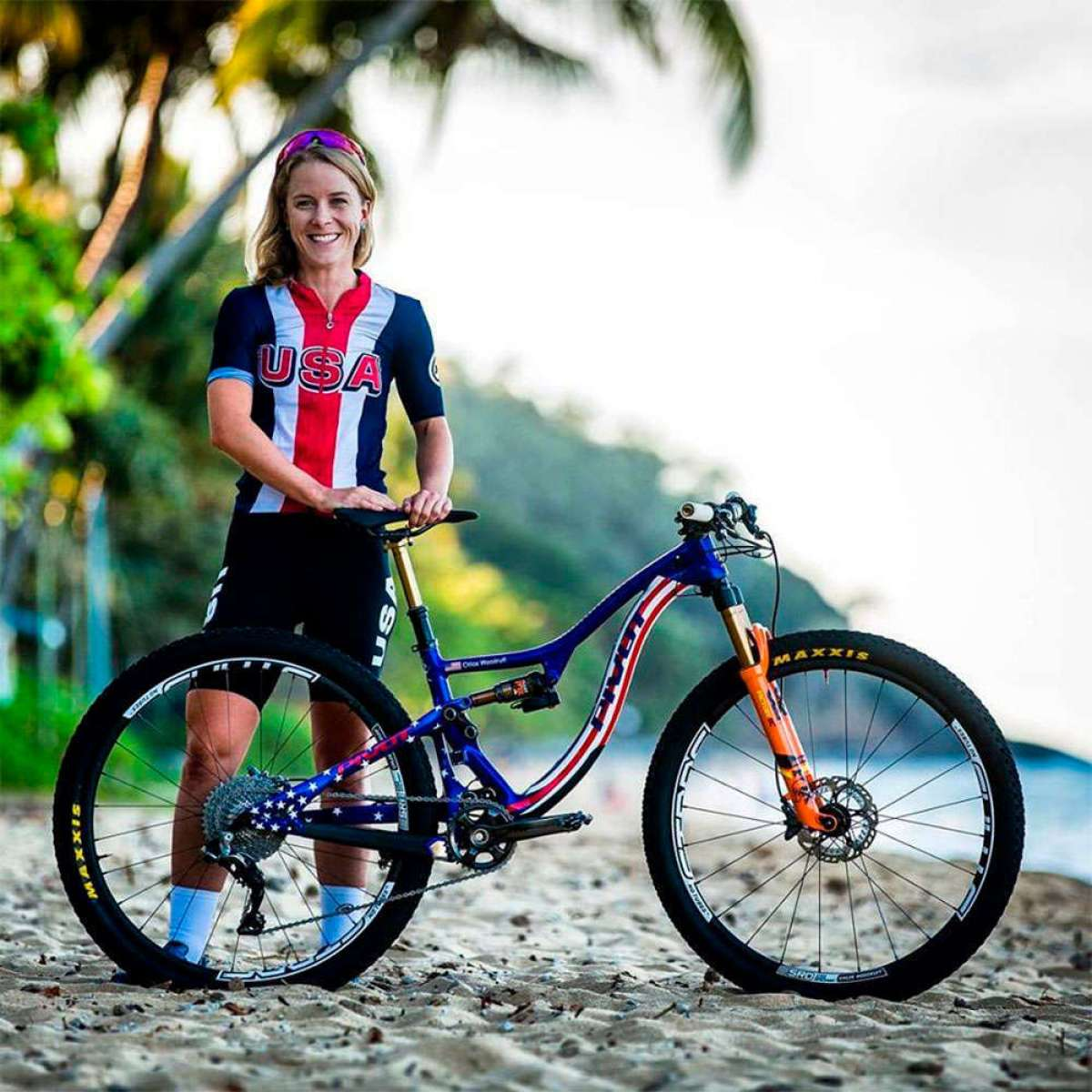"""En TodoMountainBike: Chloe Woodruff: """"Quiero terminar la Andalucía Bike Race 2018 sabiendo que puedo sobrevivir a la exigencia de competir día tras día"""""""