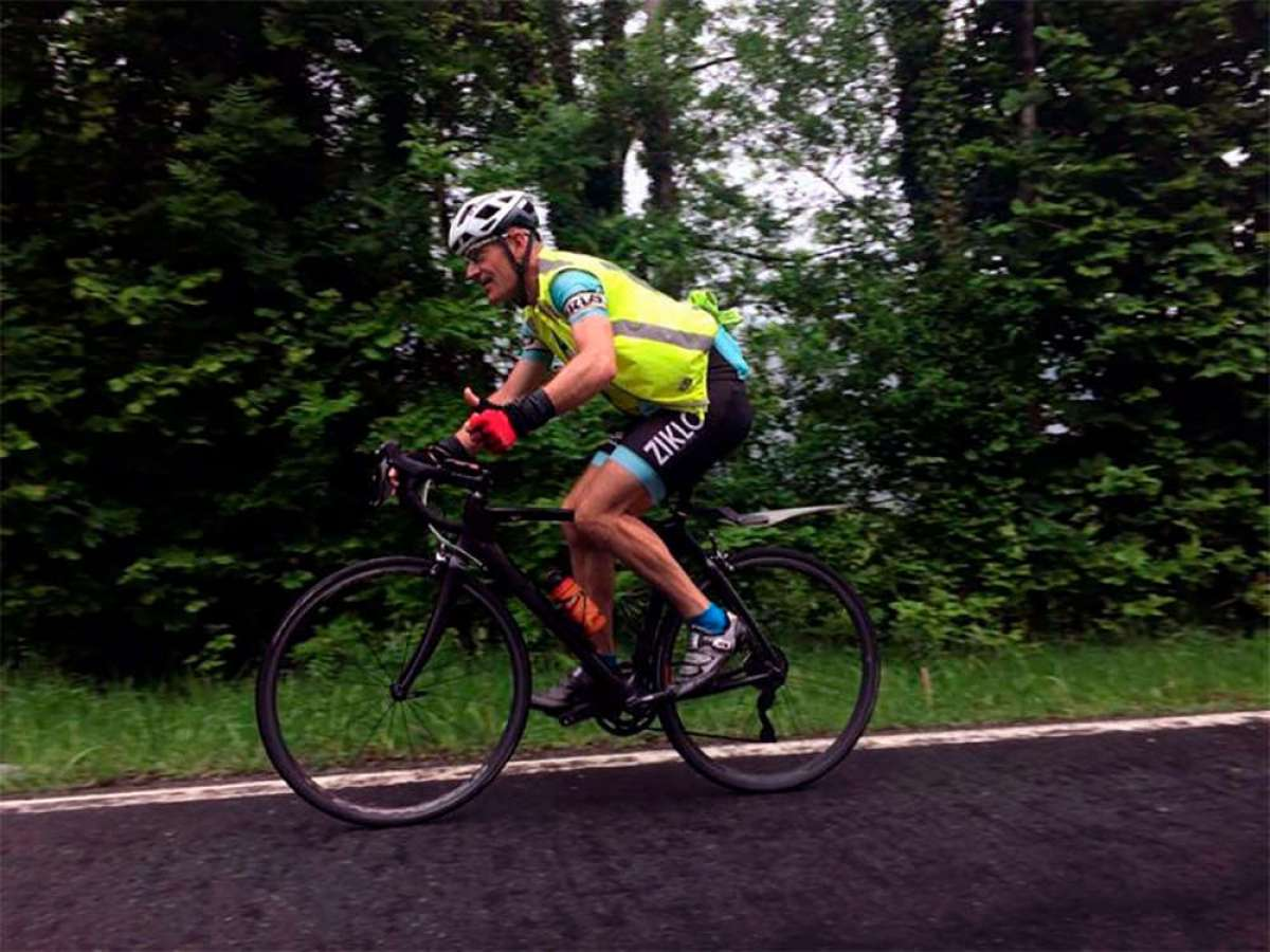 Un ciclista de Berriatua (Bizkaia, País Vasco) sube tres veces la altura del Everest en una única sesión de Strava