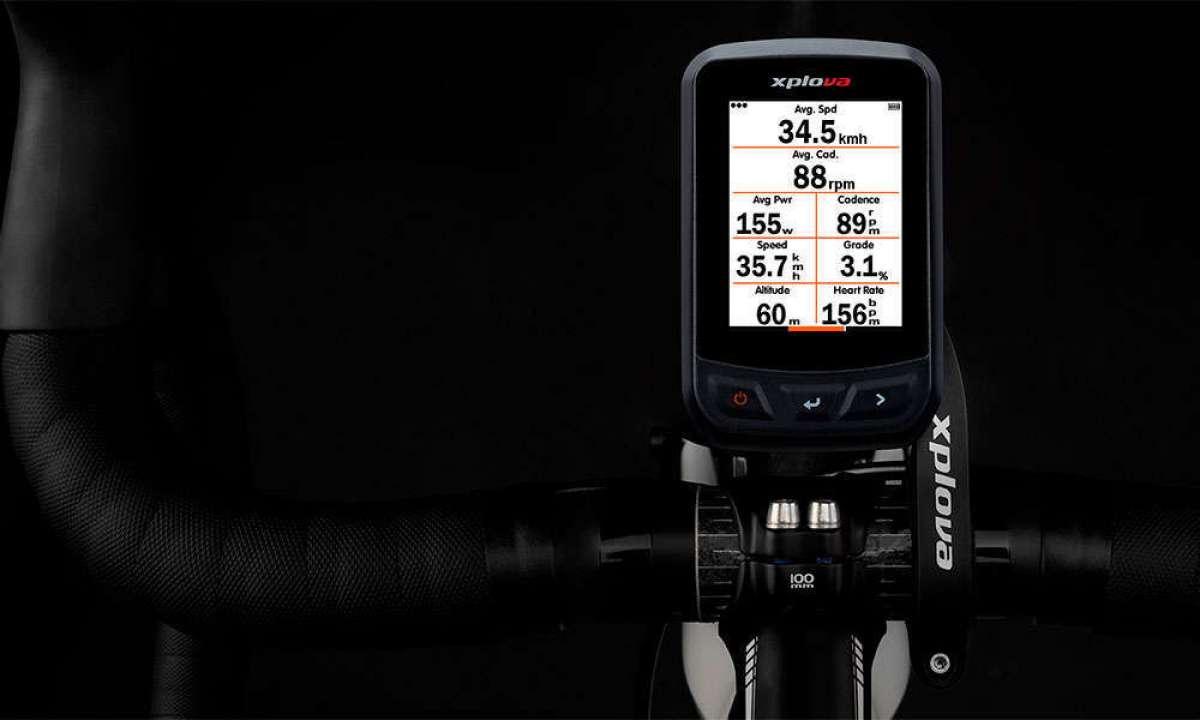 Xplova X3, un ciclocomputador GPS de funciones avanzadas a precio insuperable
