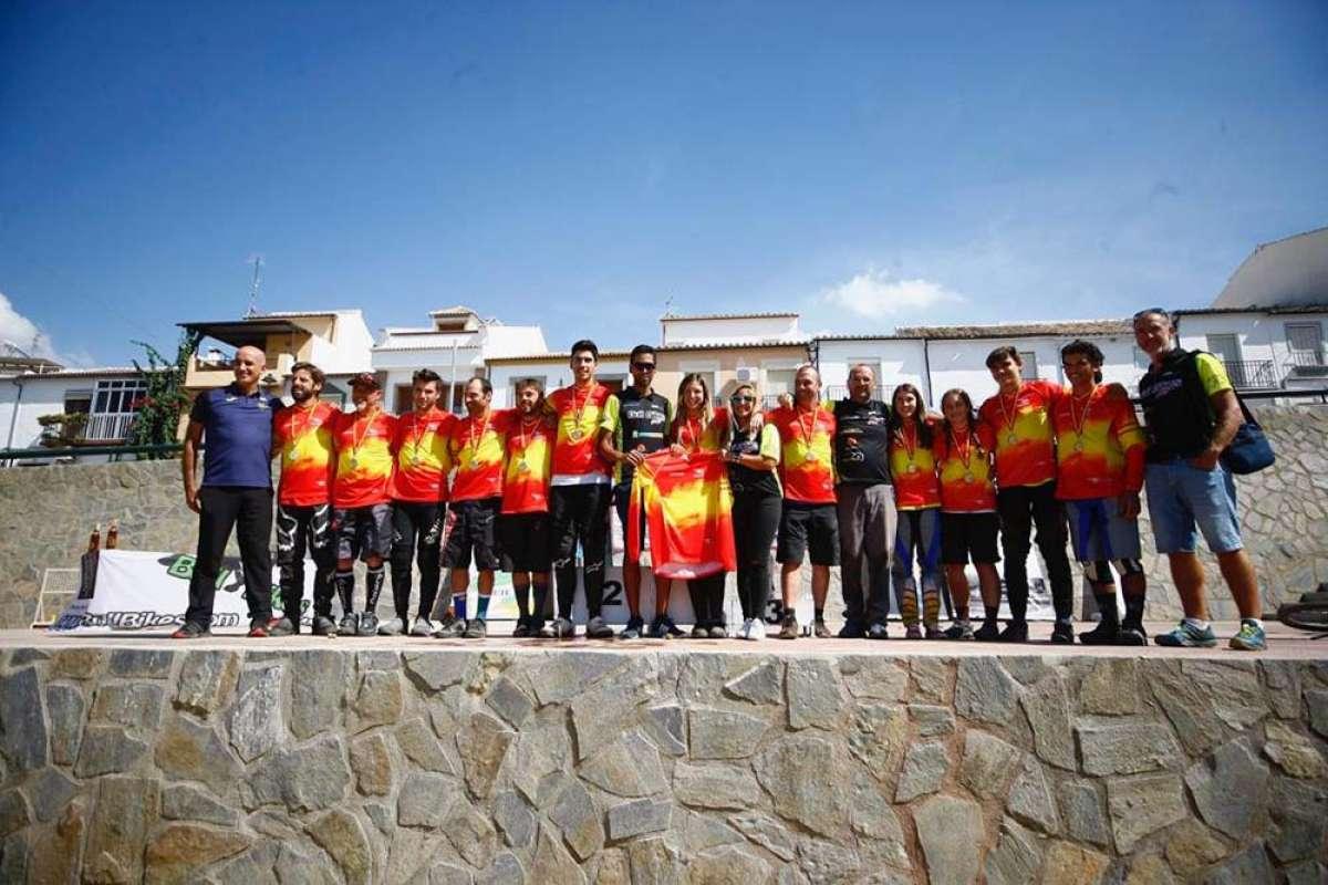 Ángel Suárez y Telma Torregrosa se proclaman en Rute campeones de España de DHI