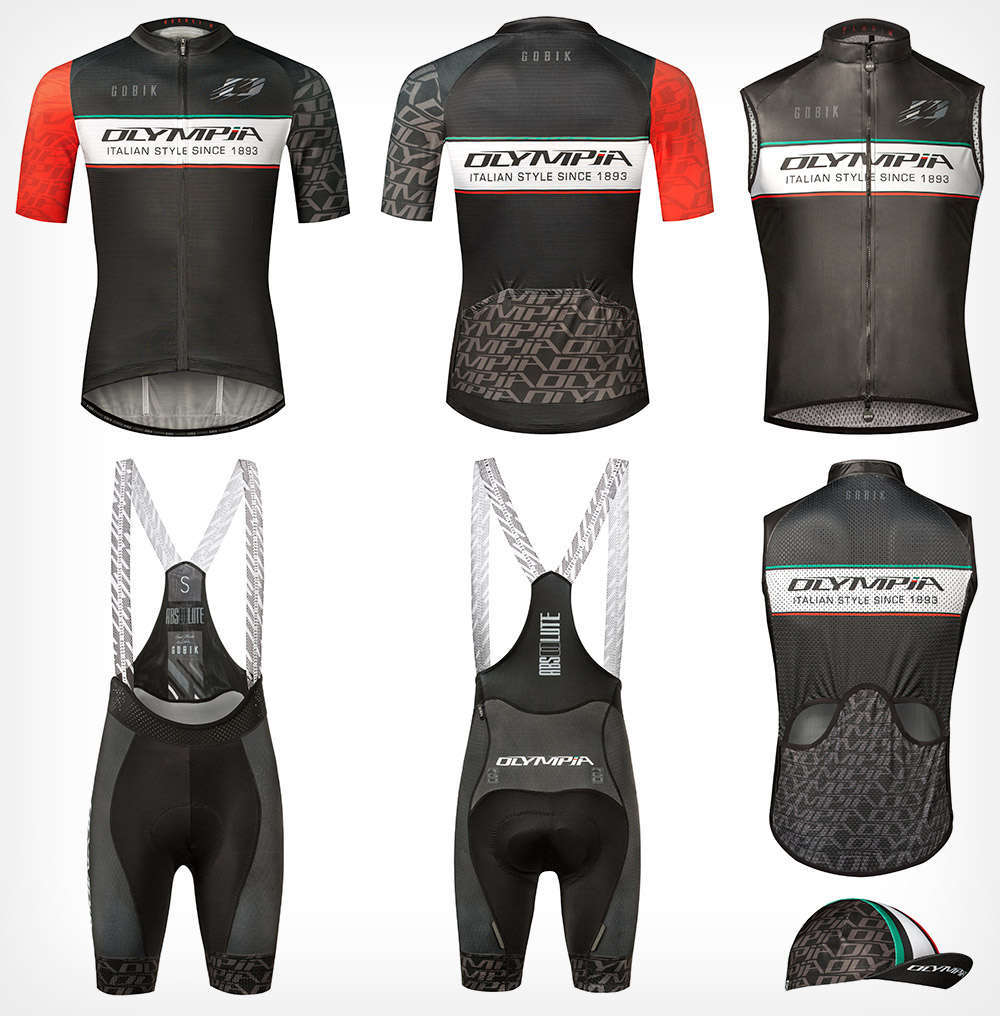 A la venta la colección completa de verano de la equipación réplica del Olympia Factory Cycling Team