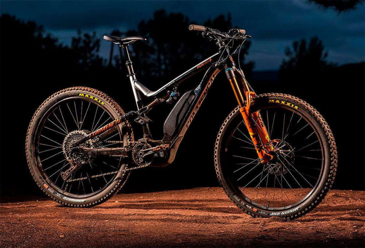 Edición especial con suspensiones FOX Factory de serie para la Commencal META Power Race
