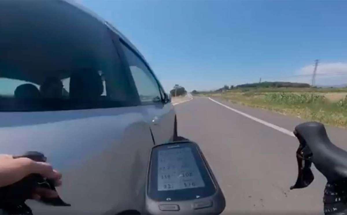Seis meses de cárcel y dos años sin carné para el conductor octogenario que casi arrolla a un ciclista en Lleida