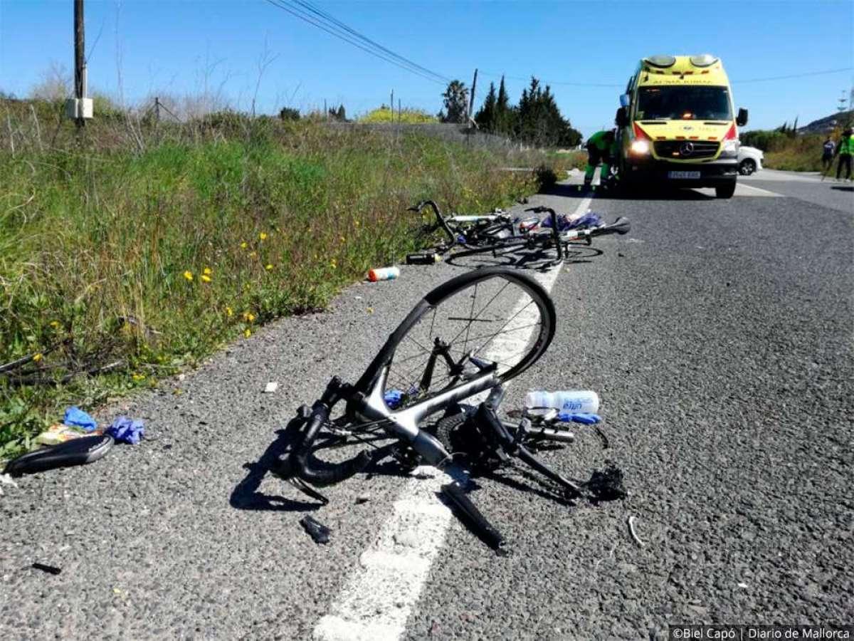 La conductora que atropelló a nueve ciclistas en Mallorca y mató a uno, queda en libertad