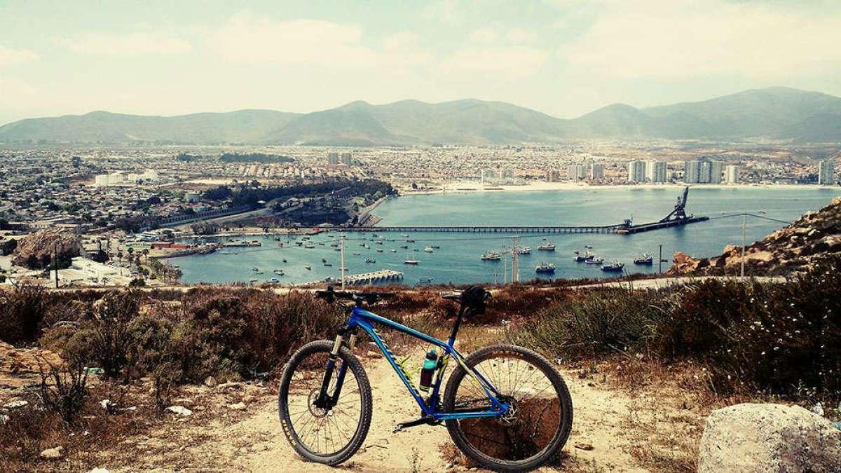 """La foto del día en TodoMountainBike: """"En Coquimbo (Chile)"""""""