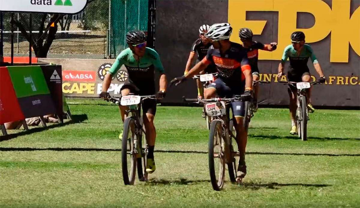 En TodoMountainBike: La cuarta etapa de la Absa Cape Epic 2018 con José Antonio Hermida y Joaquim 'Purito' Rodríguez (Merida Factory Racing Team)