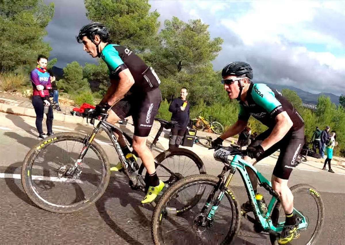La cuarta etapa de la Costa Blanca Bike Race 2018, con Ibon Zugasti y Alberto Losada