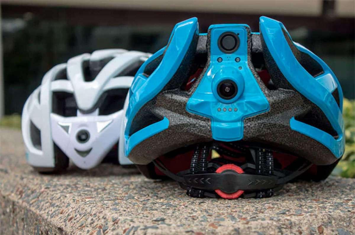 Cyclevision Edge, el primer casco con dos cámaras integradas y transmisión de vídeo en directo