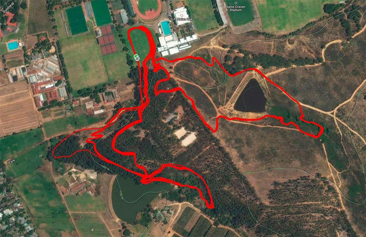 Los números de Strava de Jordan Sarrou en la Copa del Mundo XCO 2018 de Stellenbosch