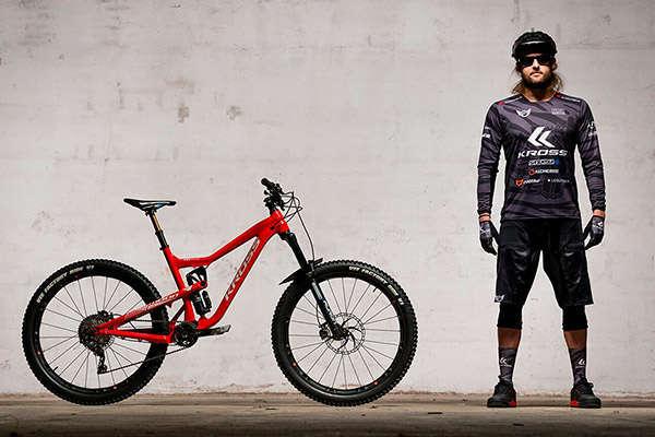 David Cachon se convierte en embajador de Kross Bikes