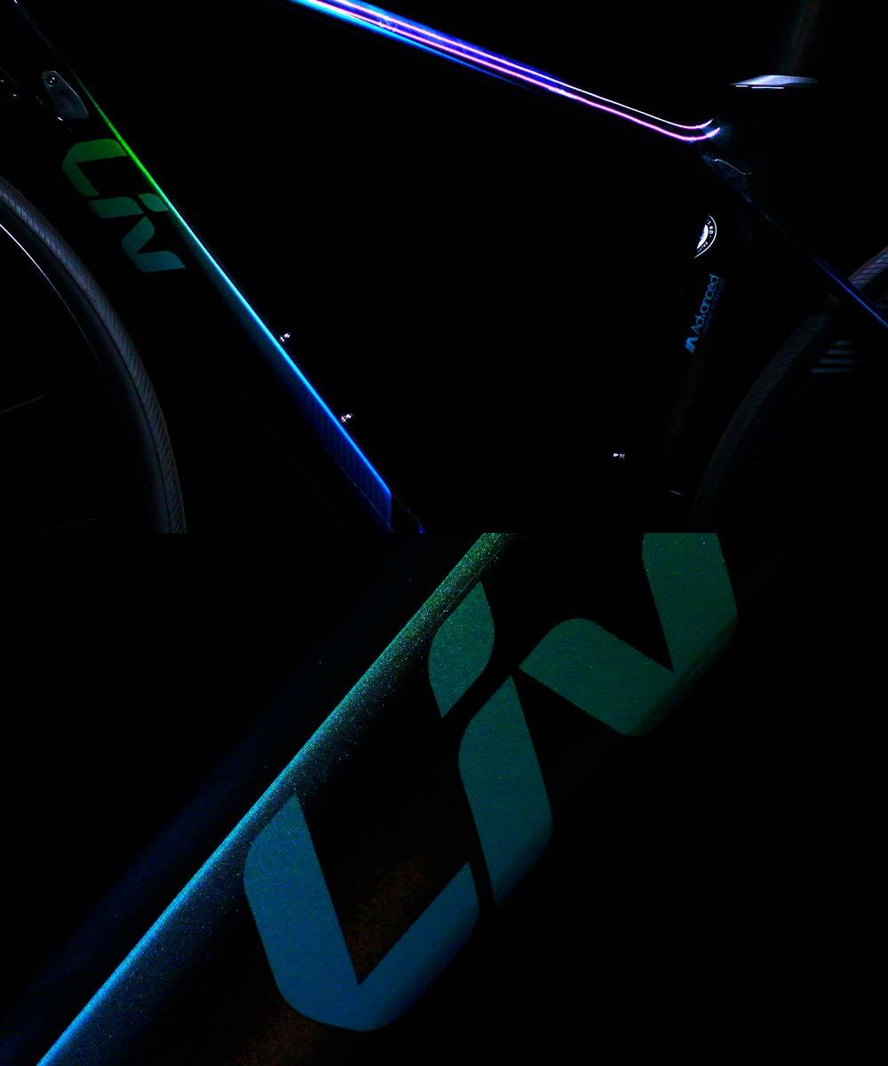 En TodoMountainBike: Las cuatro decoraciones de las bicicletas Giant y Liv de 2019: Iris, Sunbow, Rainbow y Chameleon