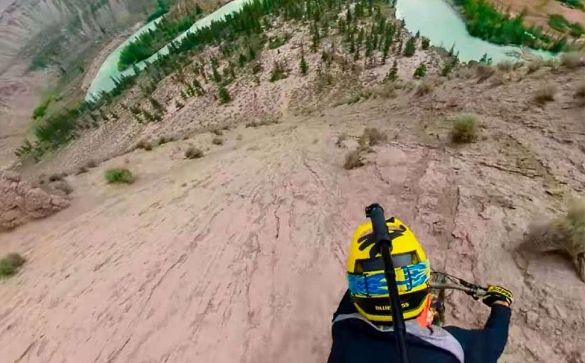 Espectacular descenso por el Farwell Canyon con Kilian Bron