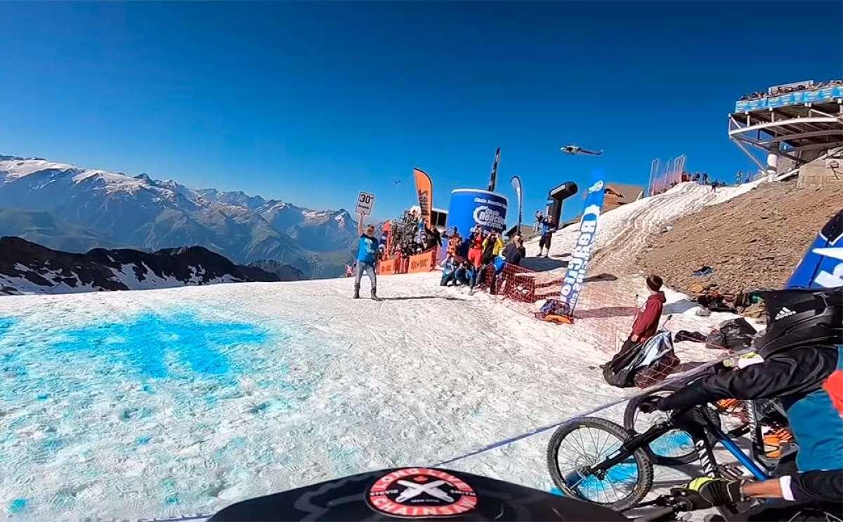 El descenso ganador de Damien Oton en la Megavalanche Alpe d'Huez 2018
