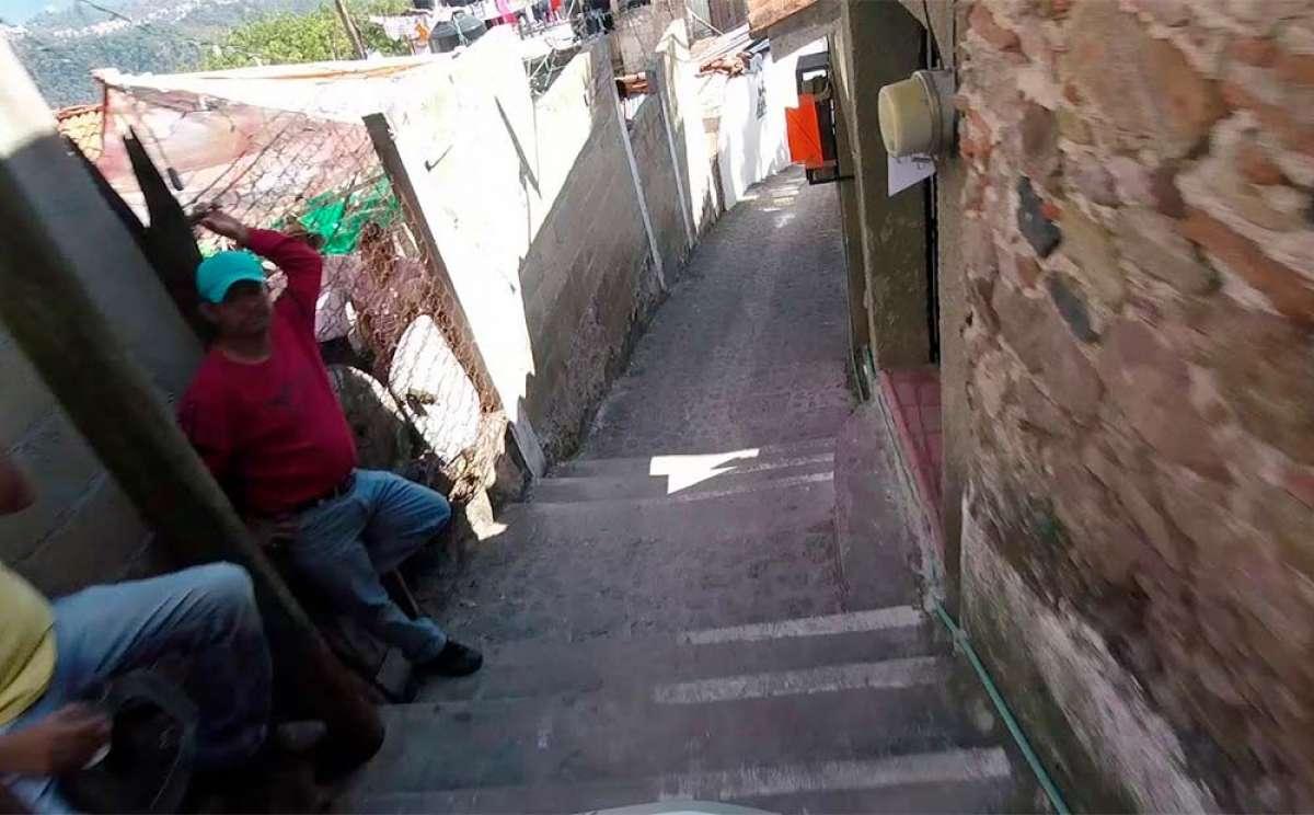 El descenso ganador de Pedro Ferreira en el Downhill Taxco 2018
