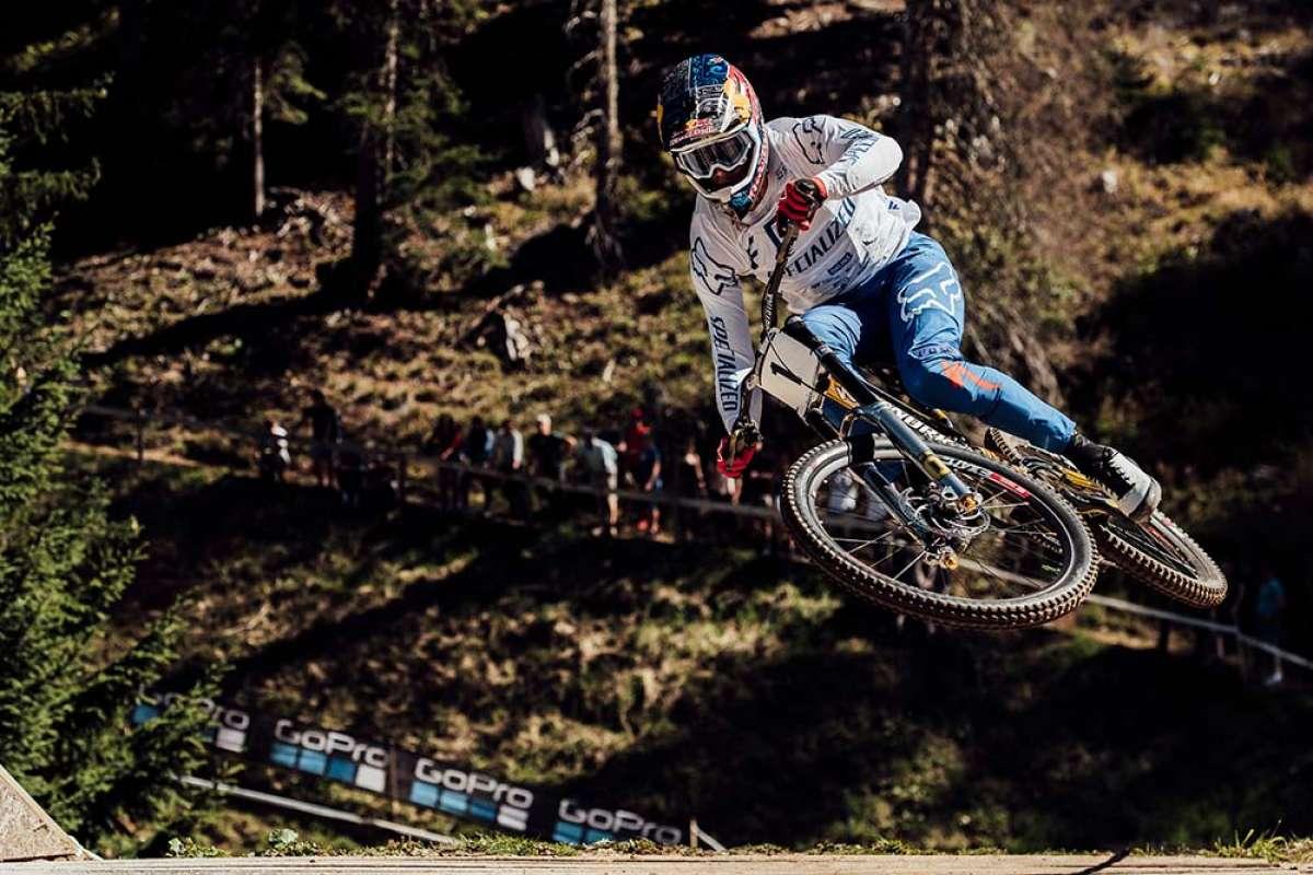 El descenso ganador de Loïc Bruni en el Mundial DHI 2018 de Lenzerheide