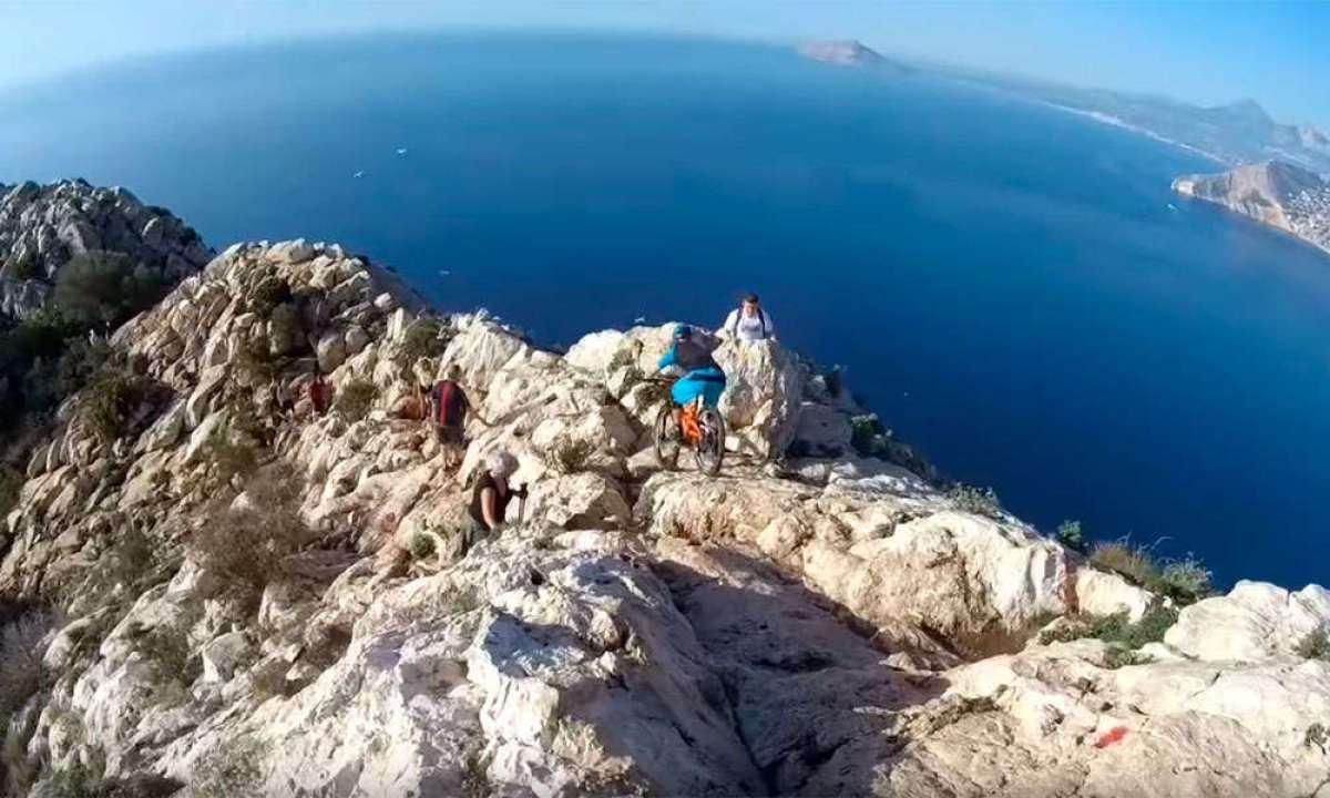 Descendiendo el Peñón de Ifach de Calpe (Alicante) con Ben Moore