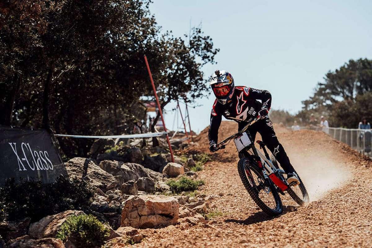 Los descensos ganadores de Aaron Gwin y Myriam Nicole en la Copa del Mundo UCI DHI 2018 de Lošinj