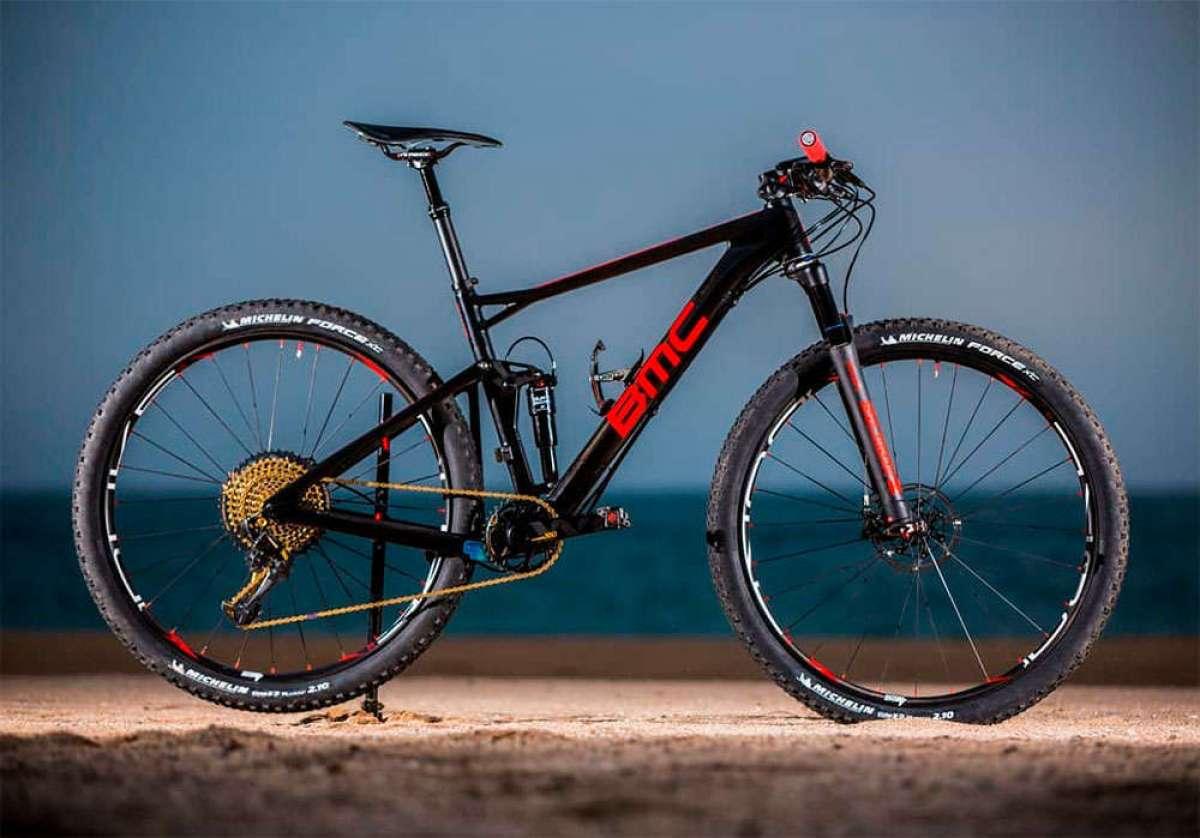 Todos los detalles de la BMC Fourstroke del equipo Absolut Absalon para la temporada 2018