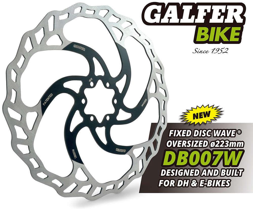 En TodoMountainBike: Galfer lanza un disco de freno sobredimensionado para bicicletas eléctricas y de descenso