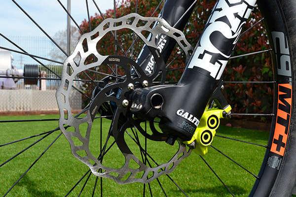 Galfer lanza un disco de freno sobredimensionado para bicicletas eléctricas y de descenso