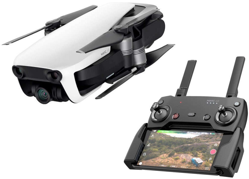 En TodoMountainBike: DJI Mavic Air, un dron ultracompacto y ligero con captura de vídeo a 4K