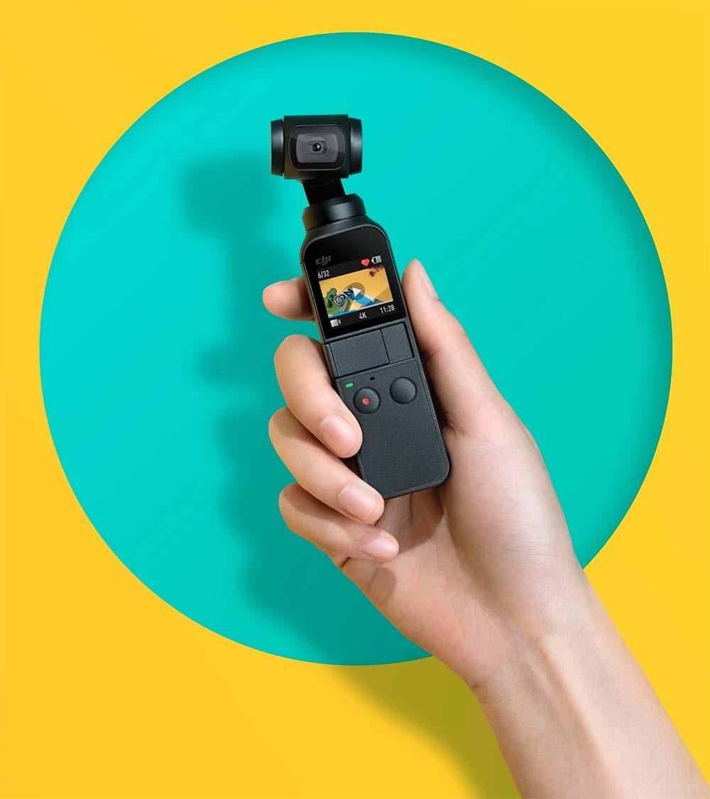 DJI planta cara a GoPro con la Osmo Pocket, una diminuta cámara 4K con estabilizador mecánico