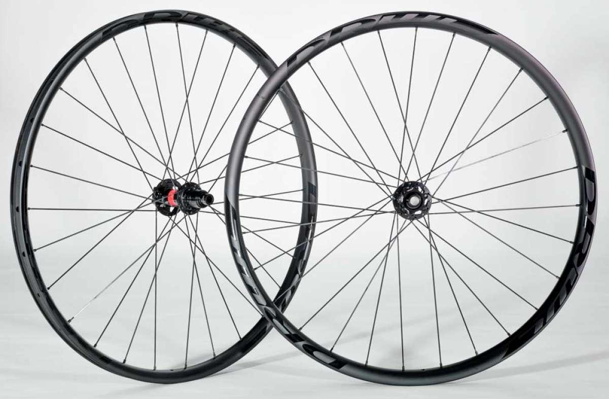 DRWL XC Pro Carbon 2019, unas ruedas de carbono para XC con llantas específicas delante y detrás
