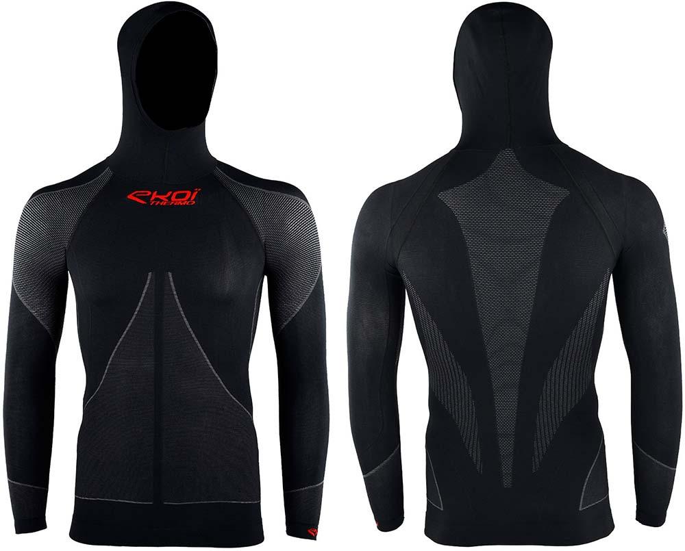 En TodoMountainBike: Protección extra contra el frío con la camiseta interior Ekoï Thermo con capucha integrada