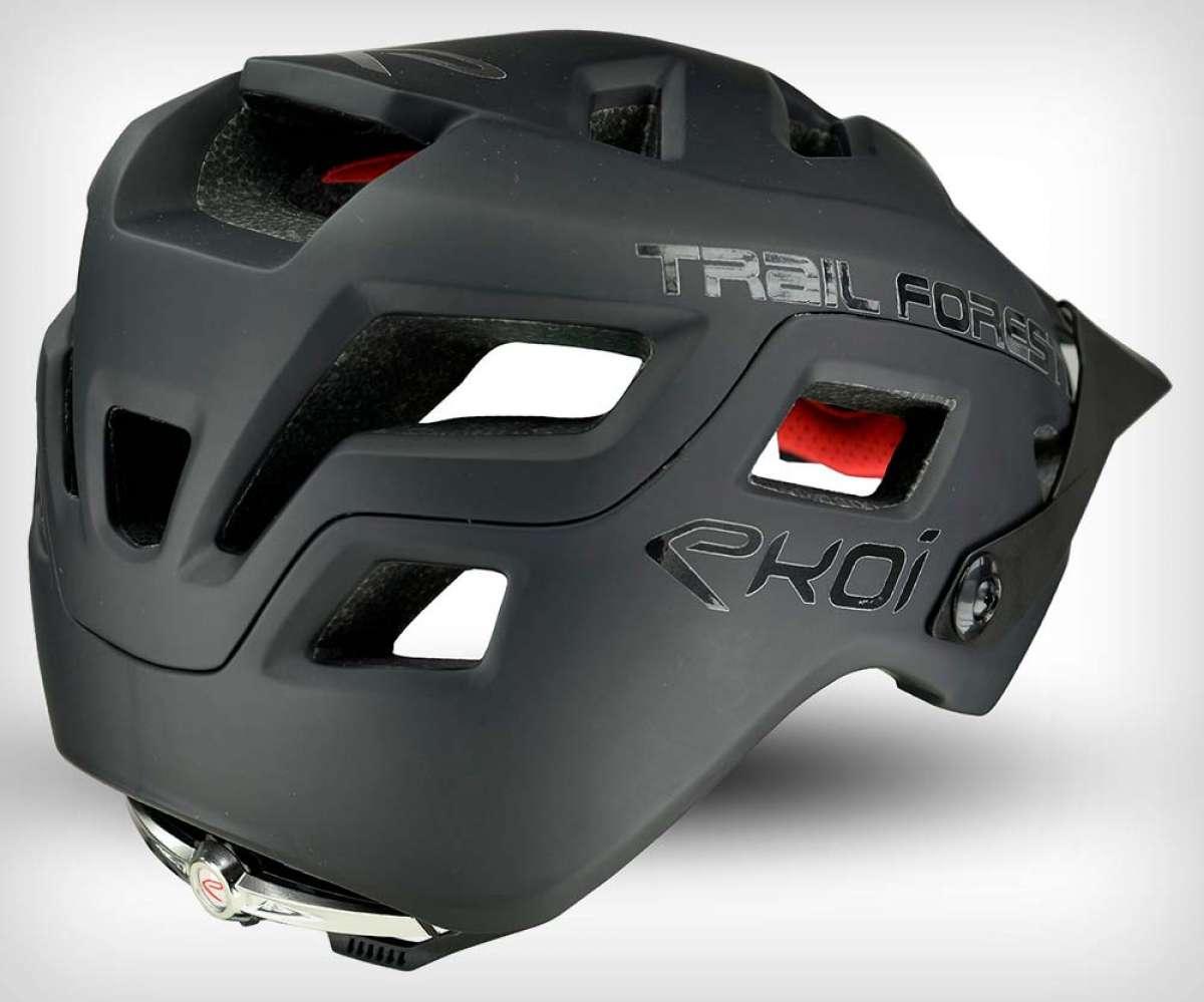 Ekoï lanza el Trail Forest, un casco MTB de estética agresiva y protección envolvente