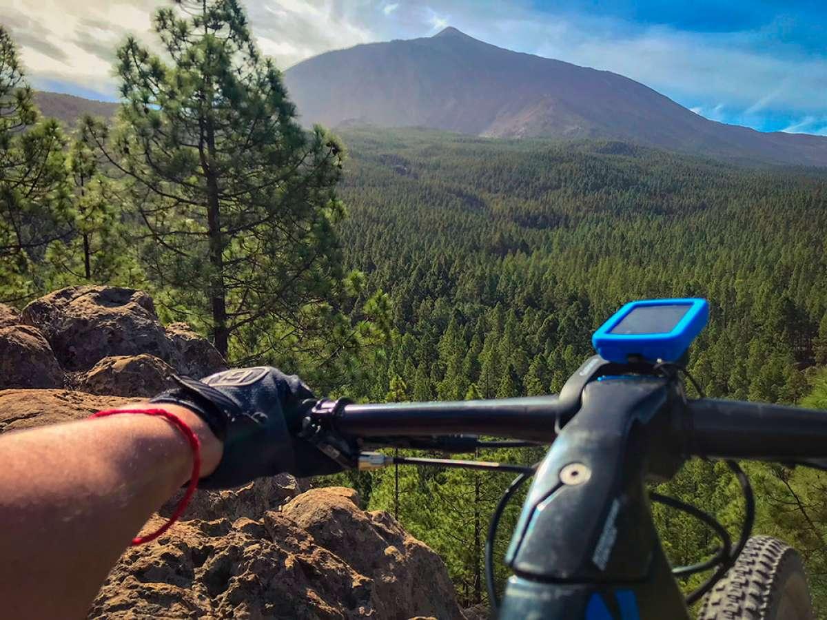 """La foto del día en TodoMountainBike: """"Por el norte de Tenerife"""""""
