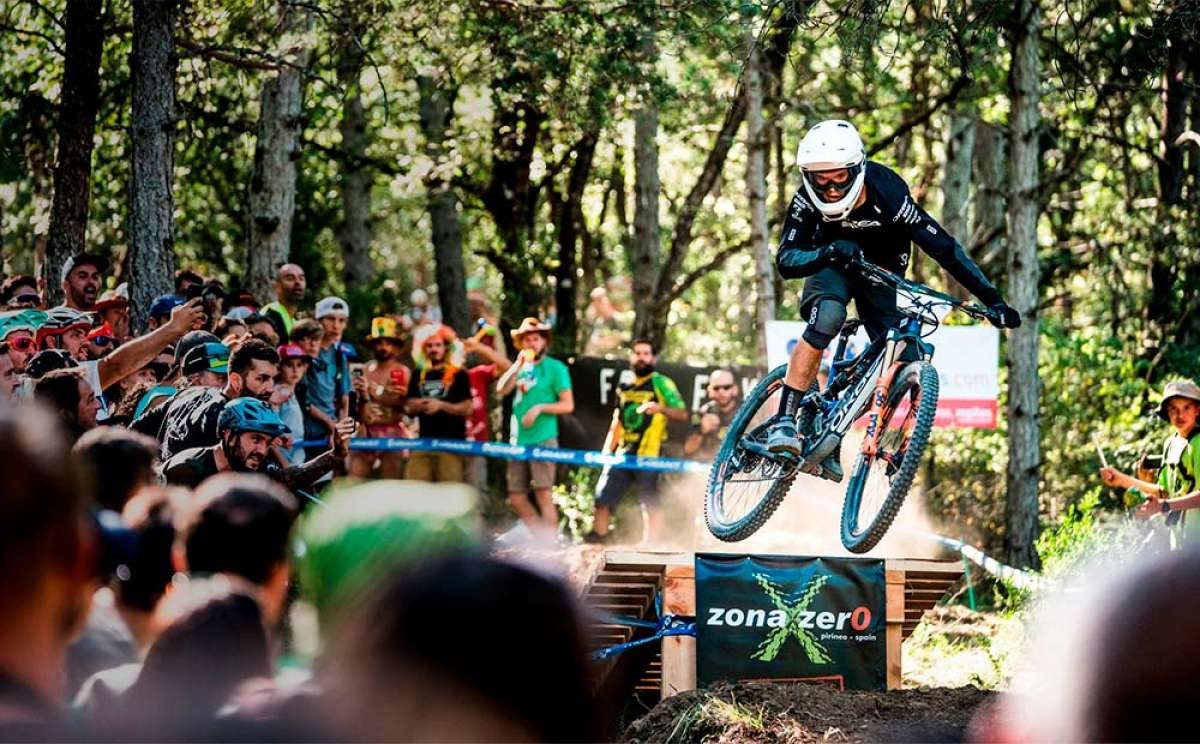 Las Enduro World Series 2018 de Zona Zero-Sobrarbe (España) con el Orbea Enduro Team