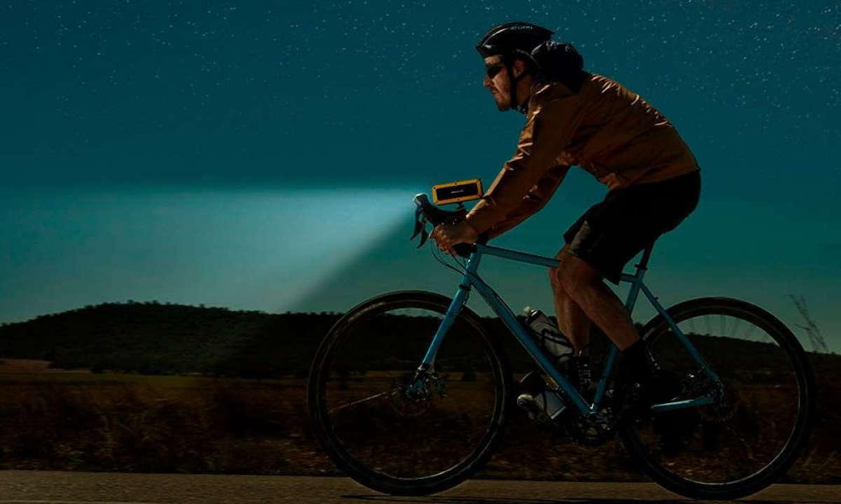 Energy Outdoor Box Bike, un altavoz con luz frontal para llevar la música encima de la bicicleta
