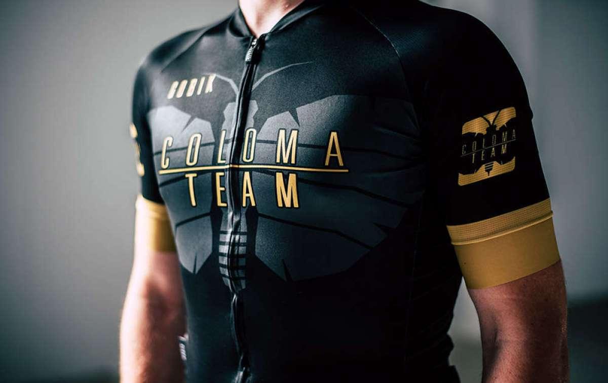Gobik Coloma Team, una equipación para ciclistas inspirada en el bronce olímpico de Carlos Coloma
