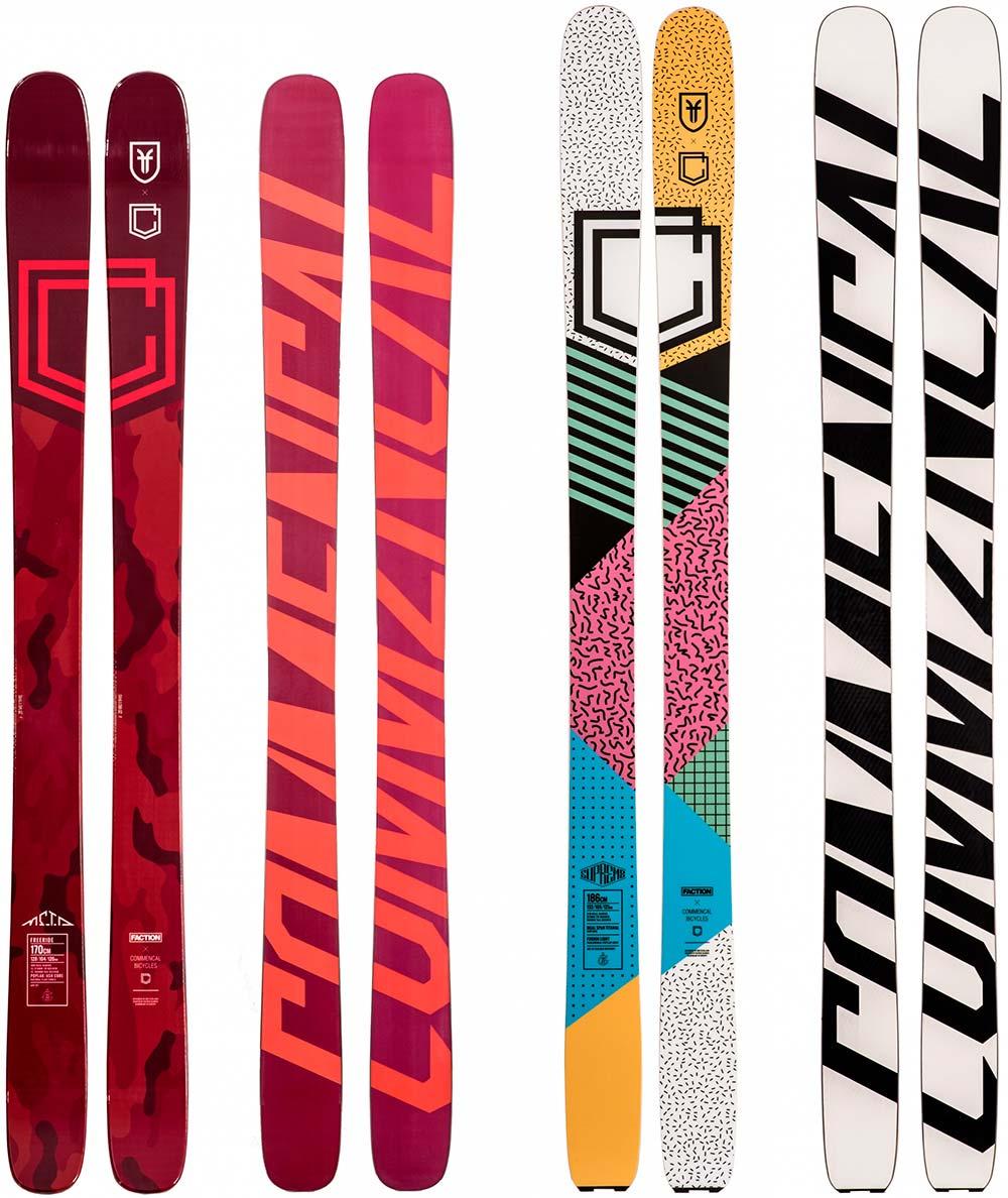 En TodoMountainBike: Commencal se introduce en el mercado de los esquís aliándose con la marca Faction
