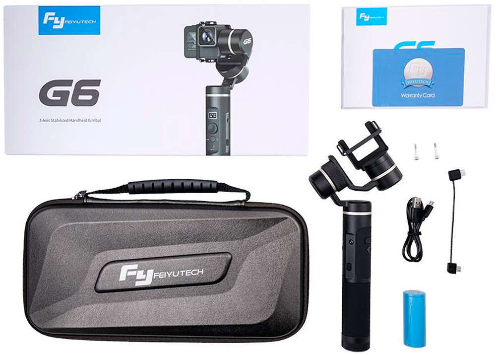 En TodoMountainBike: Feiyu G6, un económico estabilizador con Wi-Fi y Bluetooth para cámaras de acción